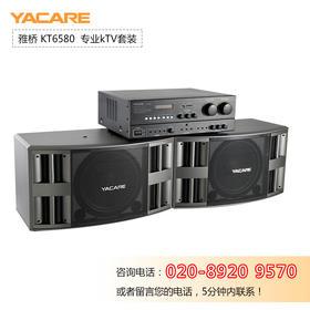 Yacare/雅桥 KT6580家庭KTV音响套装会议舞台专业卡拉ok唱歌设备