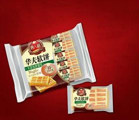 【满百包邮】香软饱腹 无添蔗糖华夫软饼
