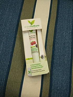 德国Cosnature纯天然有机红石榴 Q10 杏仁油 滋养紧致淡纹眼霜