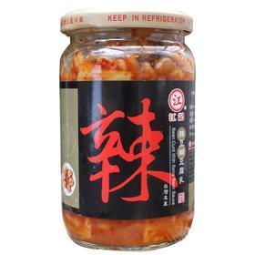台湾豆腐乳江记辣豆瓣豆腐乳380g进口调味品霉豆腐早餐食品调料