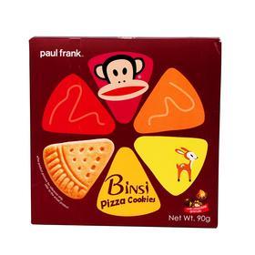 大嘴猴披萨曲奇马来西亚休闲零食饼干糕点办公室小吃 90g/盒