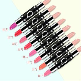 泰国化妆品Mistine双头口红Q10滋润双色唇膏