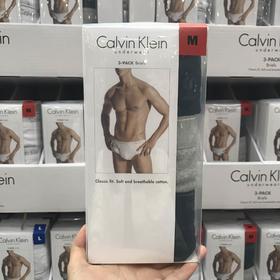 美国直邮Calvin Klein CK内裤男纯棉舒适内裤CK三角男士内裤3条装