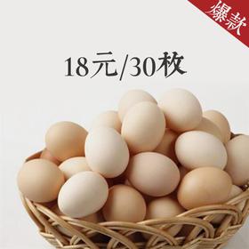 鸡蛋30枚  新鲜无公害鸡蛋  到店自提