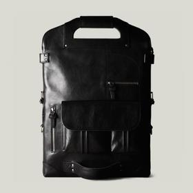 Hardgraft 7 种用法超神奇单双肩手拿包|黑色(英国)