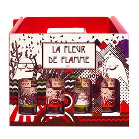 法国原装进口火焰之花红酒