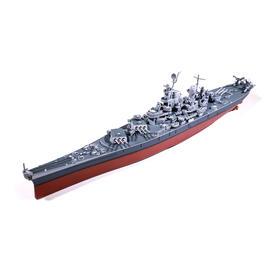 【军武定制限量版】军武定制衣阿华级密苏里号战列舰模型