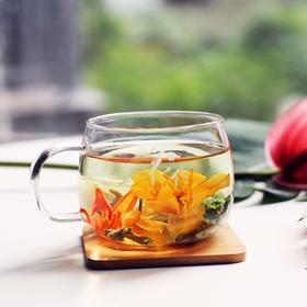 花作 | 高颜值养生花茶,送你一个水中花园