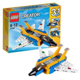 乐高 正品 百变系列31042超级滑翔机