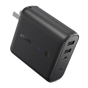 Anker超级充充电器+充电宝二合一5000毫安Switch移动电源充电插座