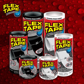 美国 Flex Tape 超强防水粘贴胶布强力胶带 应急封堵漏洞用