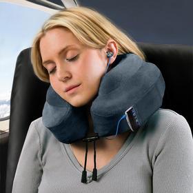 美国正品Cabeau 慢回弹记忆棉U型护颈枕飞机旅游旅行枕午睡枕记忆