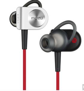 魅族(MEIZU)EP51 磁吸入耳式 运动蓝牙线控手机耳机 黑红色