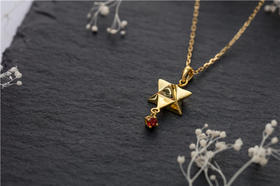 星星锁骨链