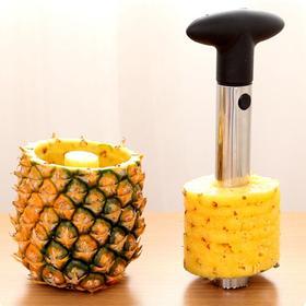 【菠萝饭利器】福利会员专享|切菠萝去眼去皮|菠萝饭这么做|加厚不锈钢|切片神器