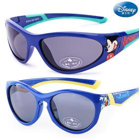 迪士尼儿童太阳镜男童防紫外学生小孩个性墨镜潮幼儿宝宝偏光眼镜33