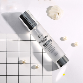 【韩国直采】韩国AHC新版B5透明质酸玻尿酸爽肤水补水保湿女美白化妆水 100ML