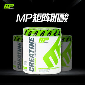 MusclePharm矩阵肌酸 加速恢复肌肉用 300g