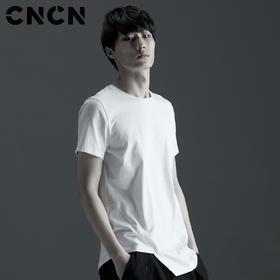 CNCN男装 2017夏天青年男士短袖T恤 纯棉薄款体恤潮 CNBT20202