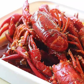 【拼团包邮】洪湖麻辣小龙虾 加热即食!(2盒/件,单盒500g龙虾,500g固形物油料汤汁,含18-20只)