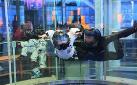 【代金券】飞行馆室内跳伞飞行体验门市价200元,优惠价代金券30抵40,带孩子一起体验全新的太空世界,让世界和你肩并肩!