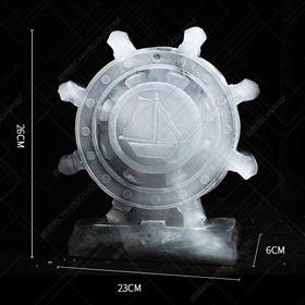 冰雕领航舵模具  看台冰雕模具  【限时促销中】刺身冰雕模具