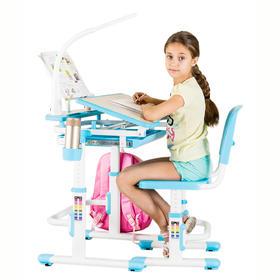 护眼博士   Y006环保儿童小学生学习桌椅套装  写字桌  可升降书桌  课桌椅