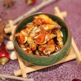 鲜辣有味 麻辣海锥 来自辽宁丹东的地道海鲜 开袋即食