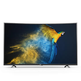 TCL D55A930C 55英寸4K曲面HDR超薄 64位30核智能液晶电视机热销