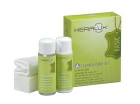 原装进口德国LCK-KERALUX纯苯胺皮革清洁护理套装 A(皮革沙发/箱包用)