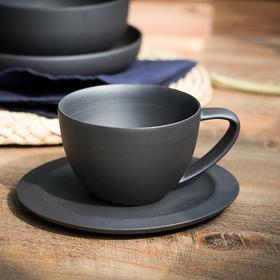 竹炭陶咖啡杯