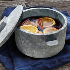 西藏墨脱手工皂石锅