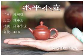 【小水平壶30CC】潮州手拉壶【陈宗胜作品】