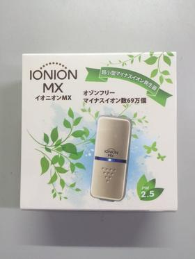 日本去除PM2.5甲醛便携空气净化器怡奥恩IONION MX LX金色