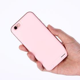 """素可""""羽""""背夹电池 苹果6超薄充电宝手机壳iphone6splus移动电源"""