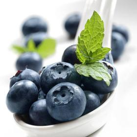 无公害蓝莓   极高的安全标准 好多妈妈说孩子一拿到就秒掉一盒 新鲜蓝莓 空运包邮
