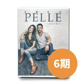 DEAPELLE高端专业鞋款杂志1年(6期)/每月快递直送