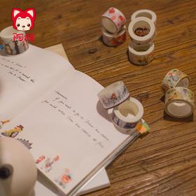 【纸胶带】梦之城阿狸新款纸胶带5月来袭~欢迎小伙伴们购买收藏
