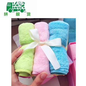 苏尚儿美容小方巾 一盒6条