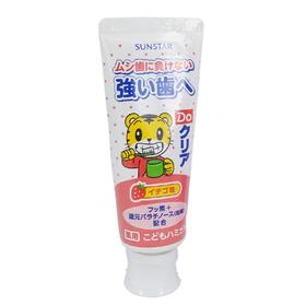 Sunstar巧虎 儿童/宝宝护齿牙膏皓乐齿儿童牙膏70g(草莓味)