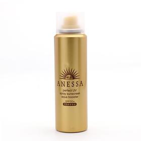 日本资生堂ANESSA安热沙防水金瓶SPF50 PA++++防晒喷雾60g