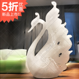 孔雀冰雕模具 创意模具可以制作巧克力展台【限时促销中】冰雕等