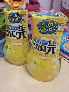 日本进口小林制药消臭元 除臭除味 空气清新剂客厅卫生间 去烟味柠檬400ml