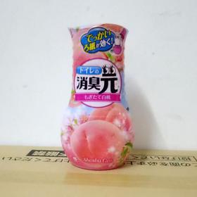 日本代购小林制药消臭元室内厕所卧室空气清新剂桃子400ml
