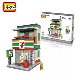 LOZ迷你街景拼装积木,打造你的情怀小店