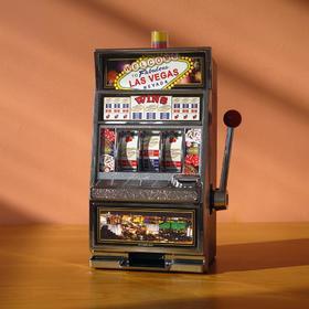 可能是你见过最能装X的存钱罐,把赌场游戏搬到桌上