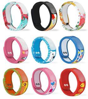 法国帕洛ParaKito 天然驱蚊腕带手环(成人/儿童)含驱蚊片2片