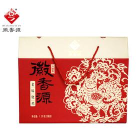 【家乡味道】安徽宿州徽香源烧鸡 白羽鸡剪纸礼盒1200g