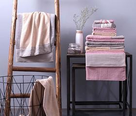 草木染毛浴巾