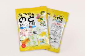 日本龙角散原味桔子味润喉糖果
